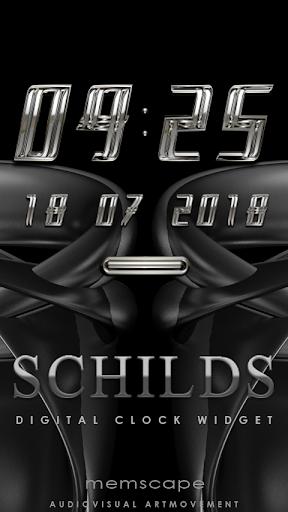 SCHILDS Digital Clock Widget
