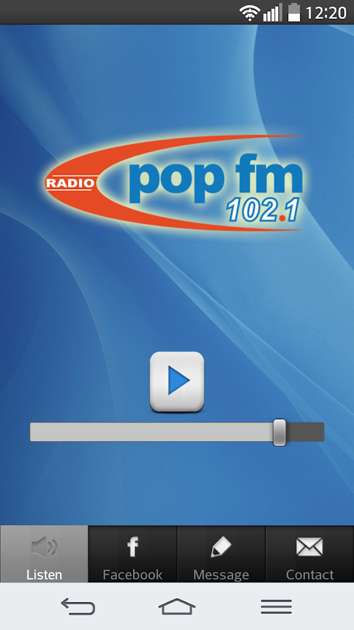 POP FM 102.1- screenshot