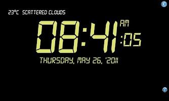 Screenshot of Clock Talk 3  FREE