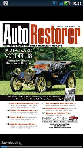 Auto Restorer magazine