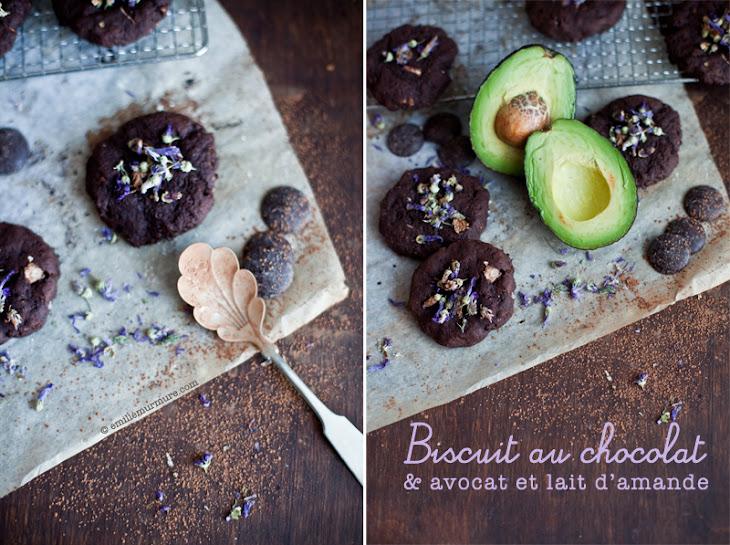 Chocolate, Avocado, and Almond Milk Cookie Recipe