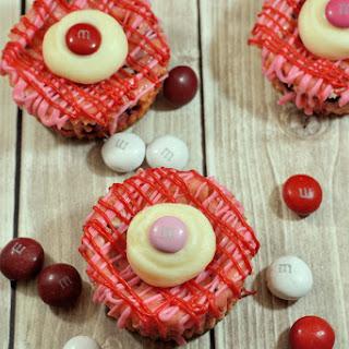 M&M's® Red Velvet Mini Cheesecakes
