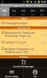 Mensa HS Deggendorf- screenshot thumbnail