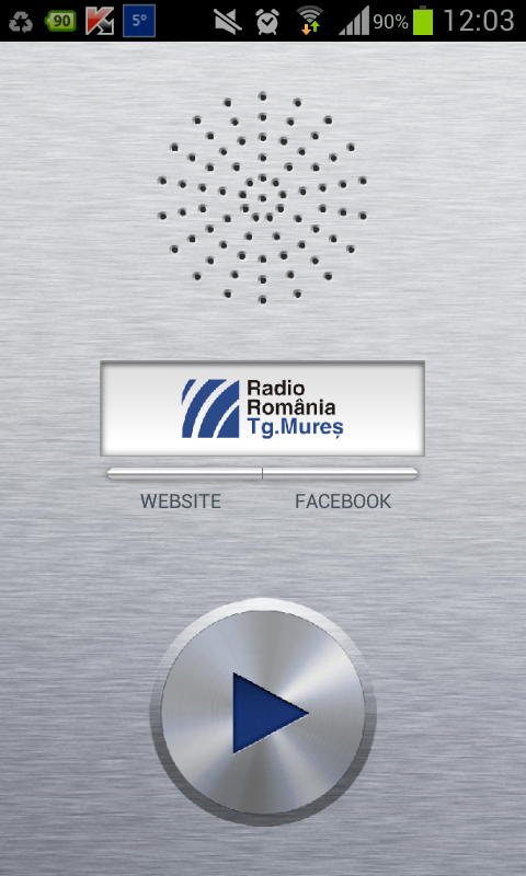 Radio Mures- screenshot