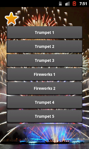 New Year Trumpet