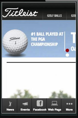 Titleist Owners App