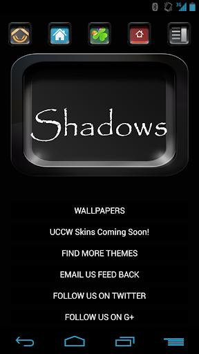 Shadows ADW NOVA APEX Theme