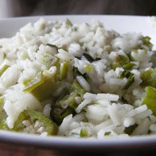 Rice with Okra.