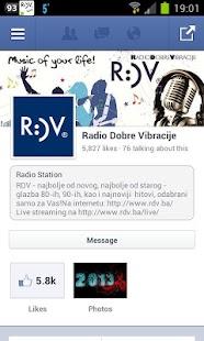 RDV Live - náhled
