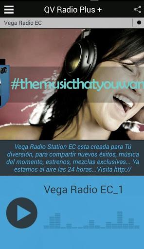 QV Radio Plus +