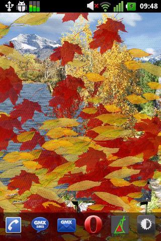 Autumn Live Wallpaper- screenshot