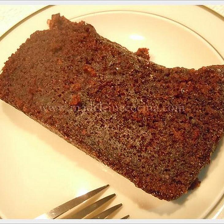Dark Chocolate Pound Cake Recipe