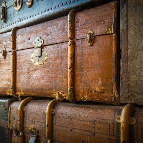 Suitcases by Manuel Herrmann - Artistic Objects Clothing & Accessories ( suitcase, container, bag, chest, box )