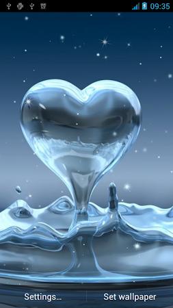 Water Drop Live Wallpaper 18 Screenshot 856627