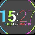 Nexus 4 Date Clock UCCW Skin icon