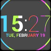 Nexus 4 Date Clock UCCW Skin