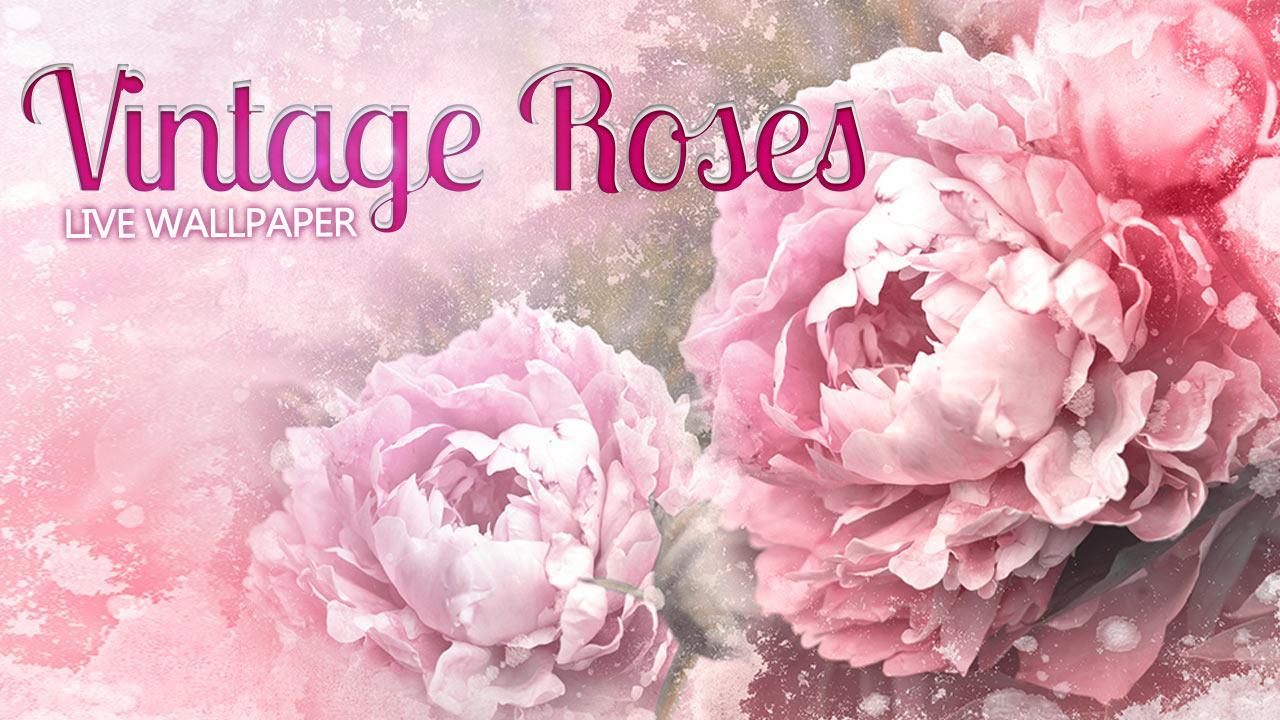 Vintage Rose Desktop Wallpaper Vintage Roses Live Wallpaper