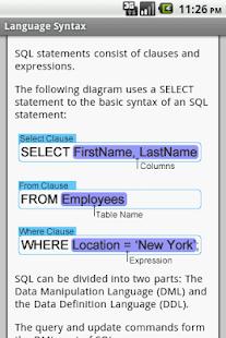 MySQL Pro Free - náhled