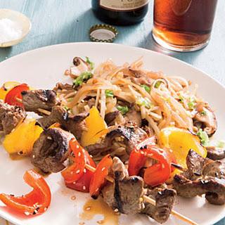 Mushroom-Ginger Noodles.