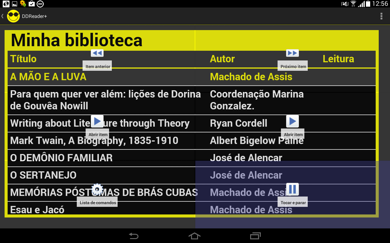 DDReader- screenshot