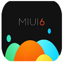 MIUI6 Dark CM11 - PA THEME icon