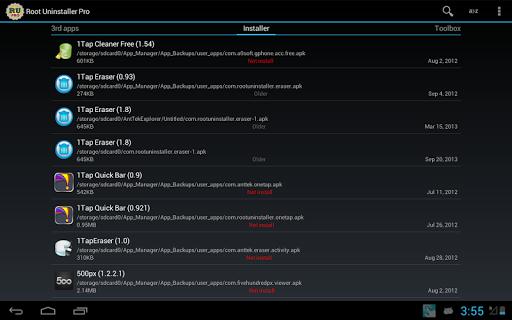 البرنامج Root Uninstaller v6.3 التطبيقات جذورها.التطبيقات 2014,2015 8uyZSk1qB5D_MEbD6fLr