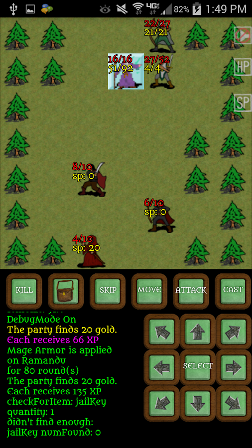 Lanterna (IceBlink RPG)- screenshot