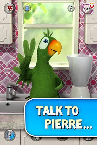 Talking Pierre the Parrot v1.0 APK
