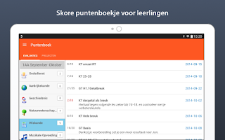 Screenshot of Smartschool