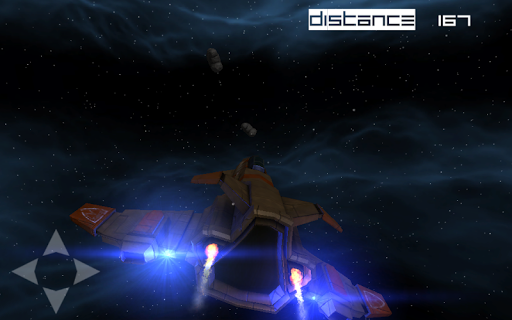 Space asteroid dodge