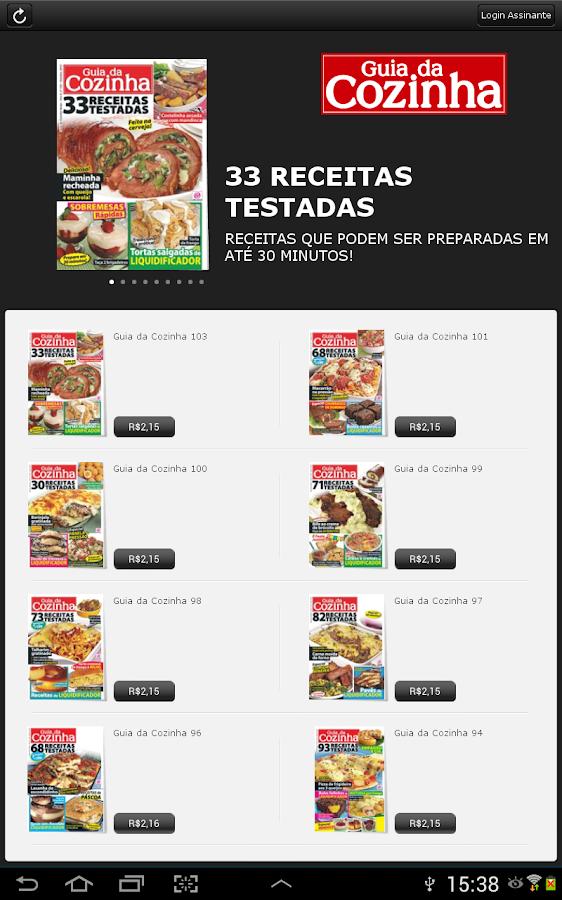 Revista Guia da Cozinha - screenshot
