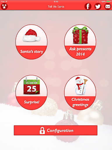 【免費娛樂App】Tell me, Santa Claus Christmas-APP點子