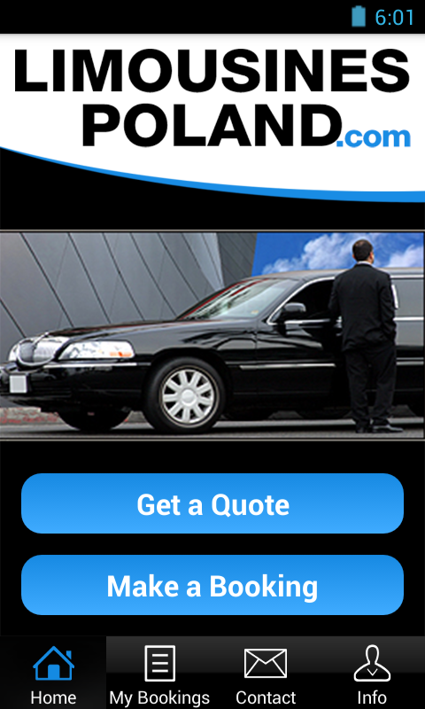 LimousinesPoland.com- screenshot