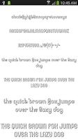 Screenshot of Fonts for FlipFont 50 #2