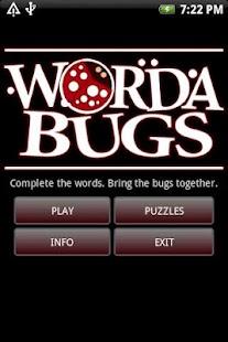 WordaBugs- screenshot thumbnail