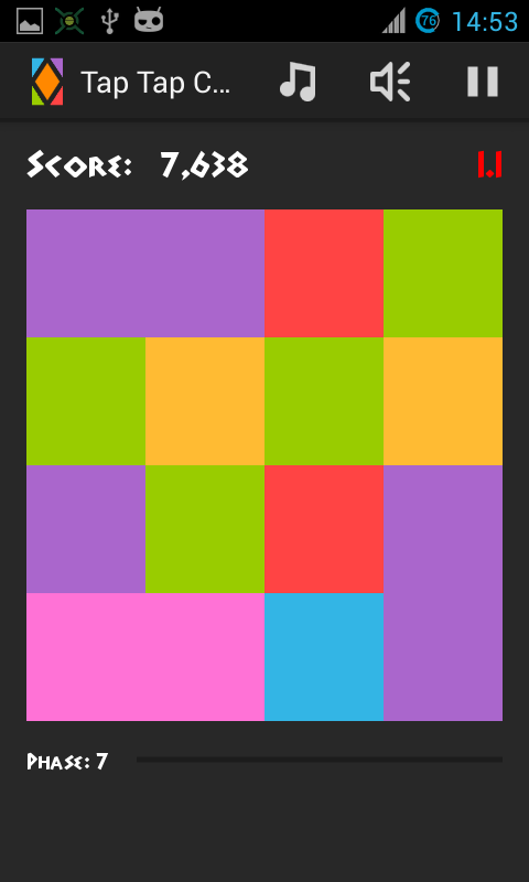 Tap Tap Color- screenshot