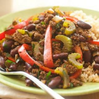 Cajun Beef Skillet Supper