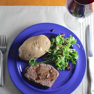 Filet Mignon with Balsamic Pan Sauce
