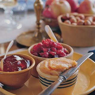 Cranberry Marmalade.
