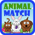 Preschool Animal Match Free icon