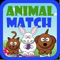 Preschool Animal Match Free icon