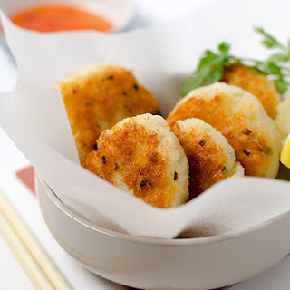 Easy Asian Style Fish Cake.