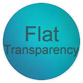 Flat Transparency Theme