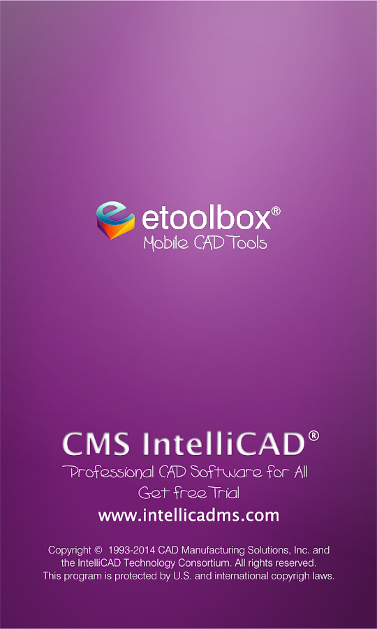 Etoolbox Mobile CAD Viewer - screenshot