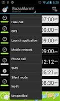 Screenshot of BozaAlarm (OpenAlarm+)