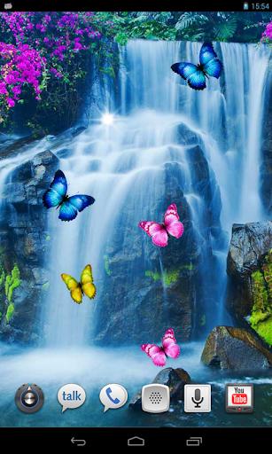 Waterfall Tropic livewallpaper