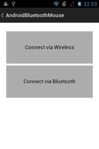 Bluetooth WIFI Mouse Trial