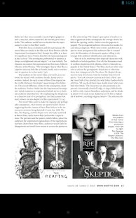 Skeptic Magazine - screenshot thumbnail