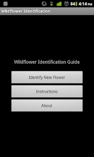 Wildflower Identification- screenshot thumbnail