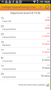 UK Bus Times Live: Bus Scout- screenshot thumbnail